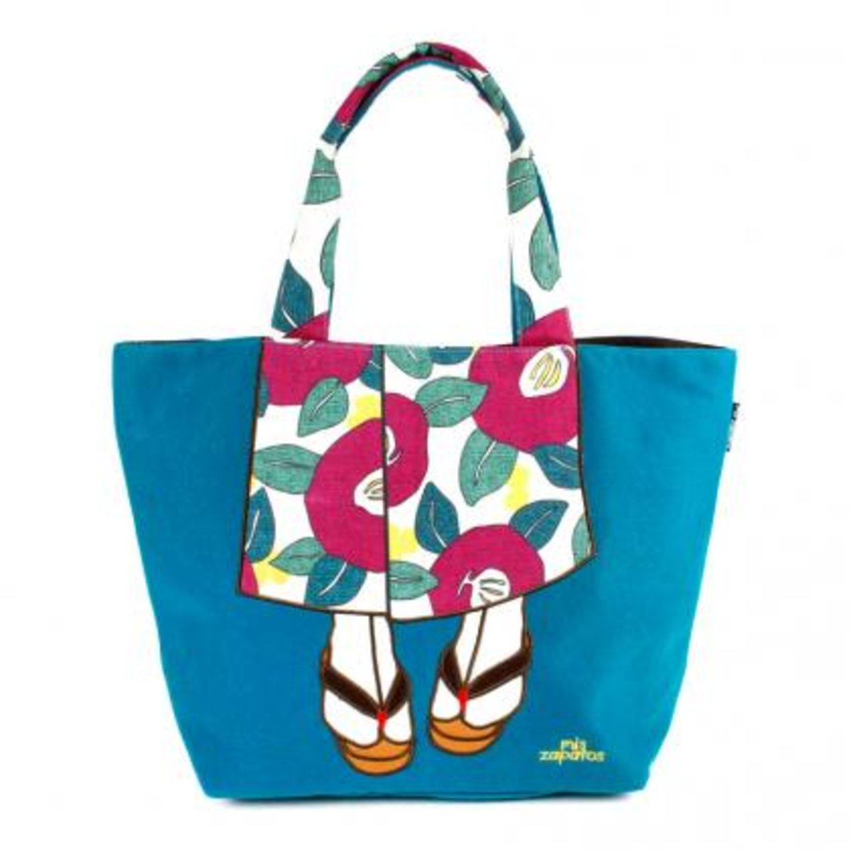 Zapatos B-6462-BL ToteBag Blue