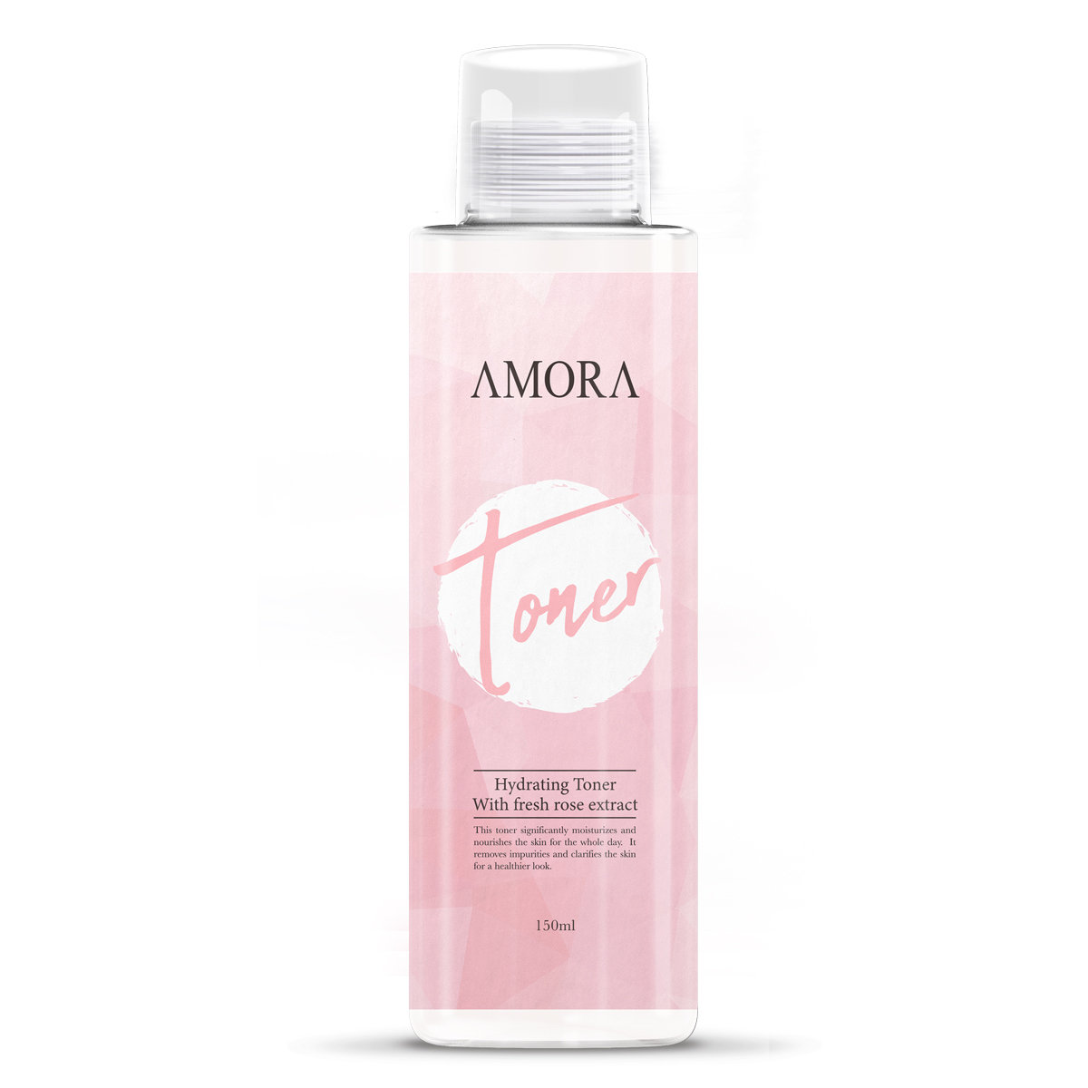 Amora Hydrating Toner With Fresh Rose Extract 150ml