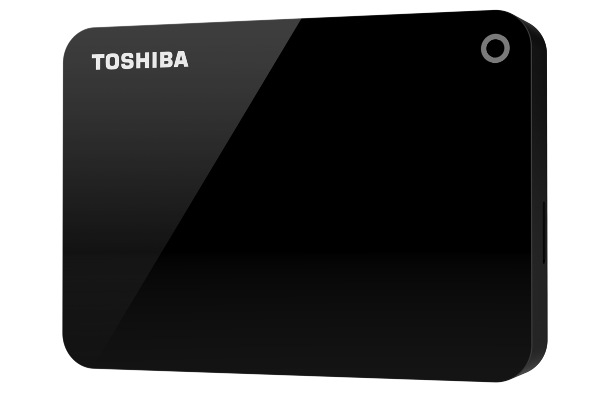 Toshiba CANVIO ADVANCE (V9) 外接式硬碟 2TB – 黑色