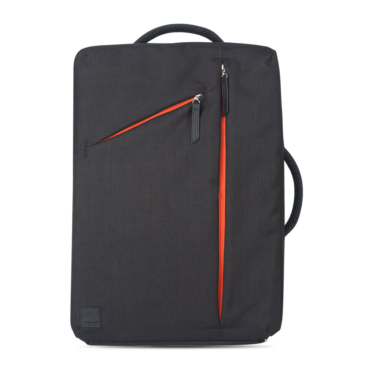 Slim laptop backpack [Black]