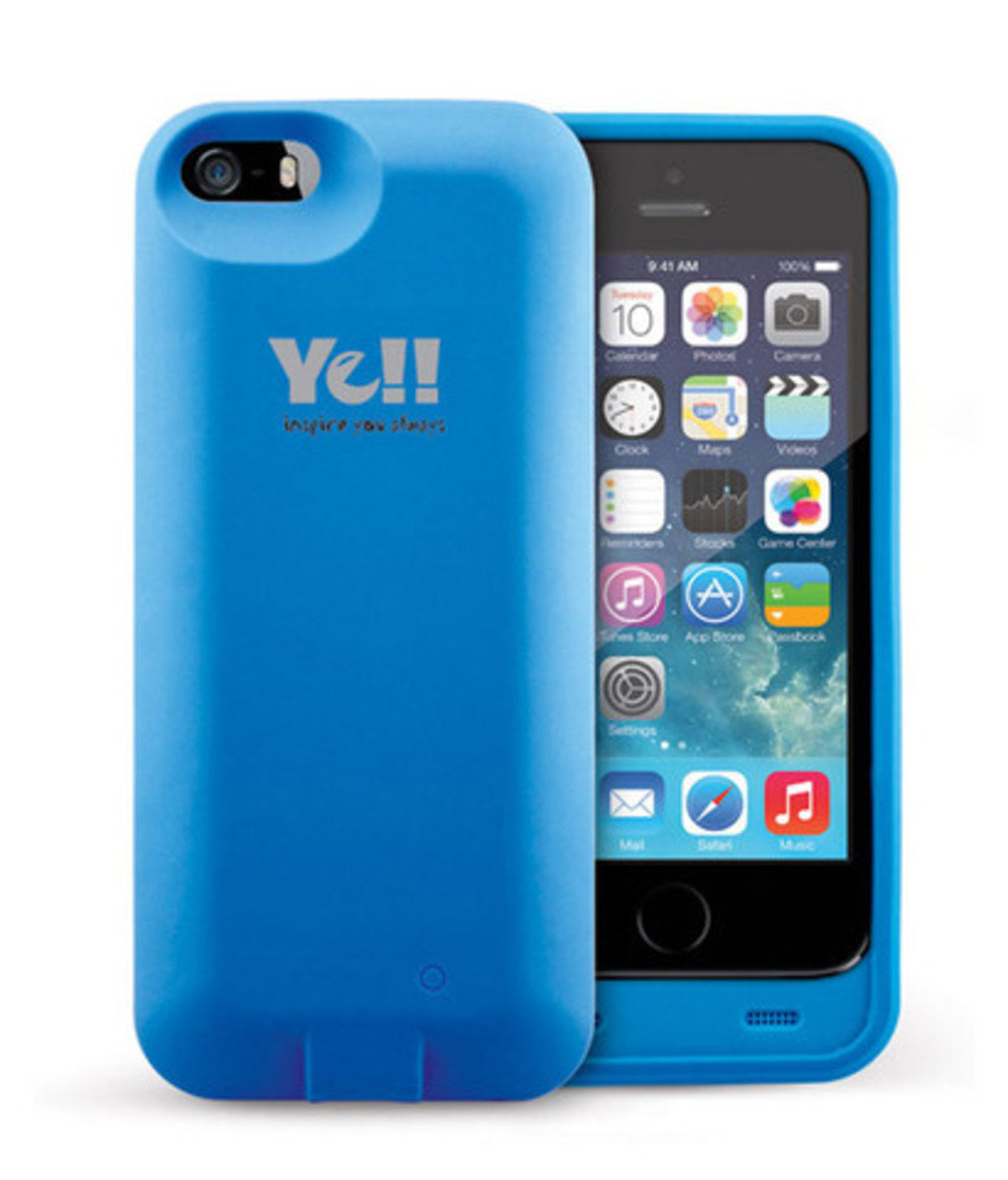 BPP5 - iPhone 5 / 5s 2000mAh 充電套 (Blue)