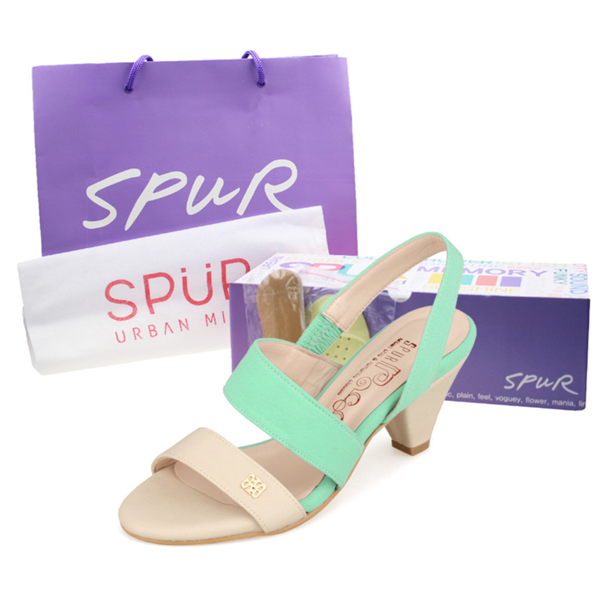 HKTV exclusive Spur Goodie Bag-Pastel strappy