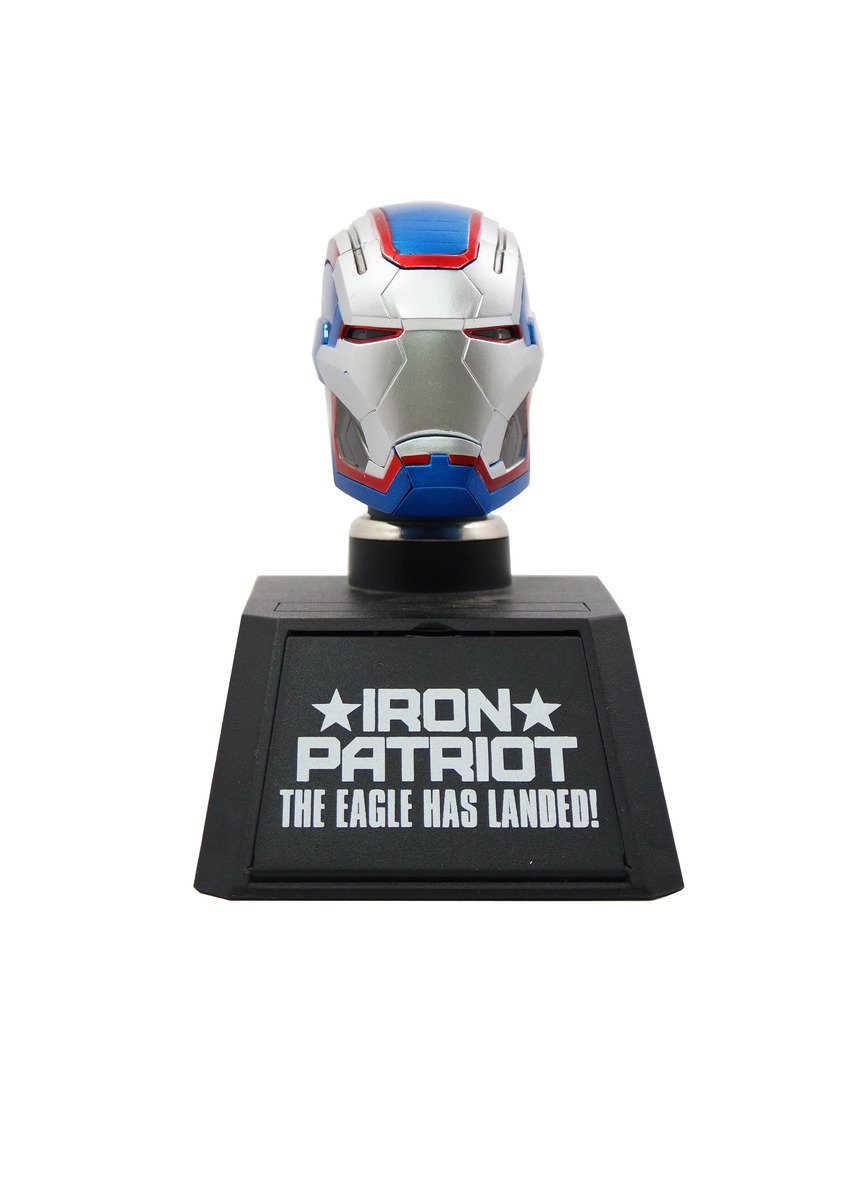 Ironman Patriot Collectible Bust Car mounted charger