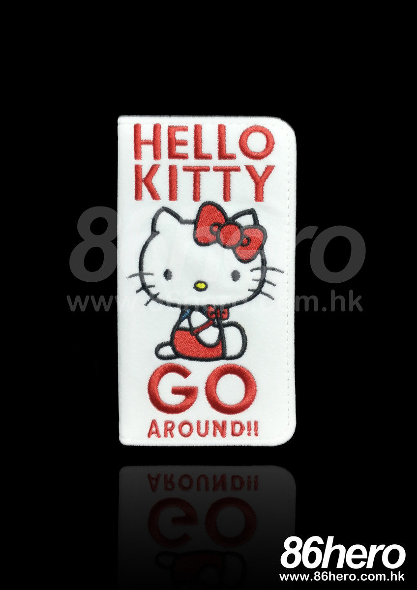 Hello Kitty flannelette folio iPhone6 Plus