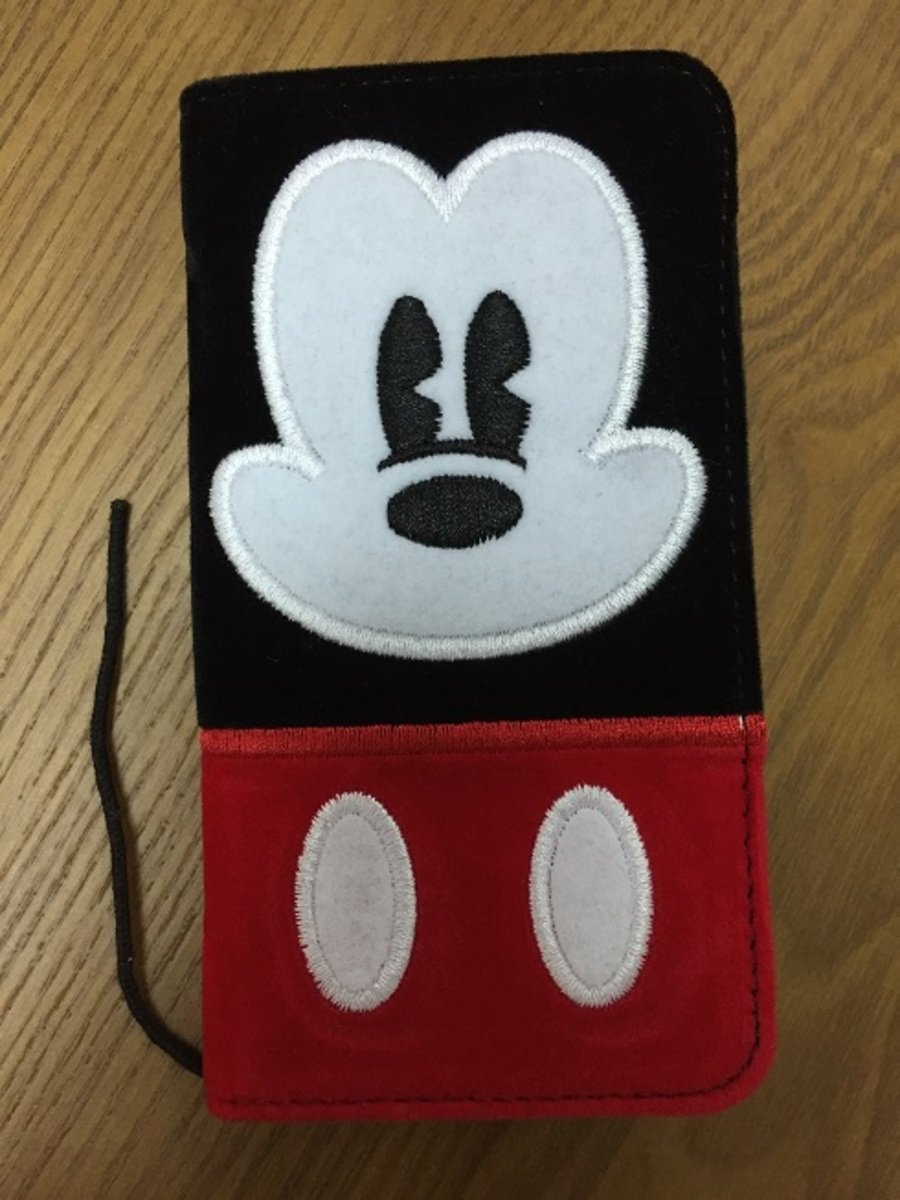 Mickey flannelette folio iPhone 6