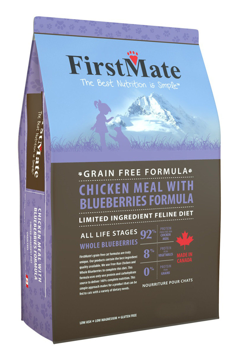 FirstMate Grain Free Chicken With Blueberries (Cat) 4LB (20080)