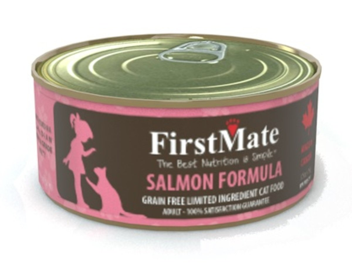 FirstMate Grain Free Salmon Formula (Cat Canned) 156g