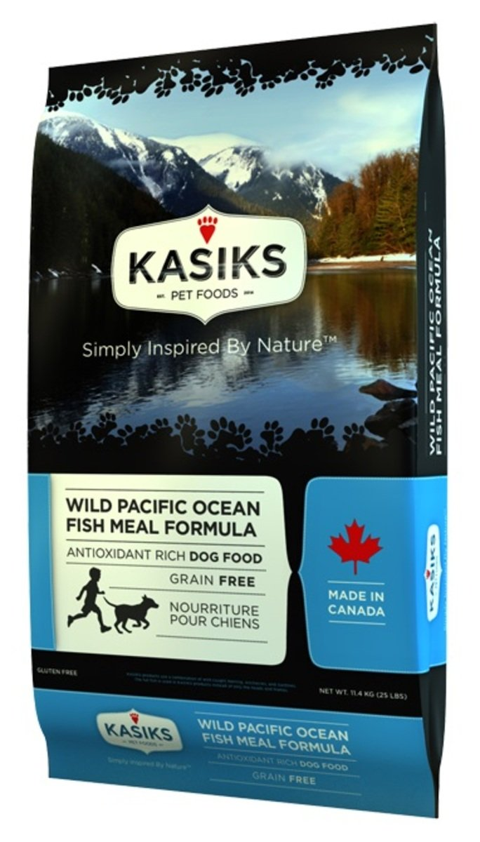 KASIKS Wild Pacific Ocean Fish Meal Formula 25LB (80002) (Dealer Goods)