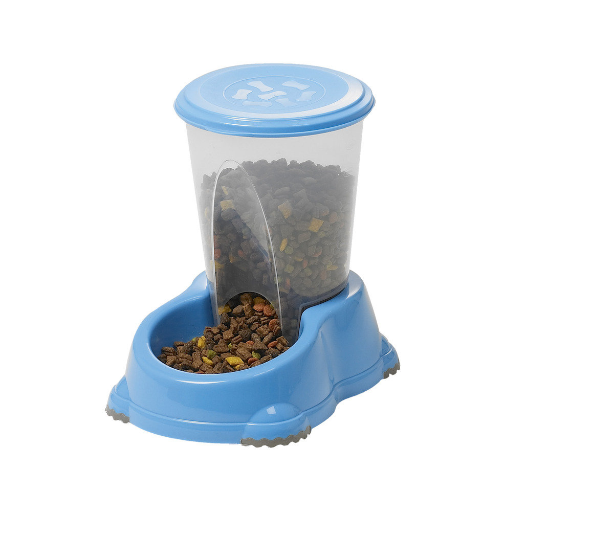 H141  Dry Food Bottle 1.5L - Blue