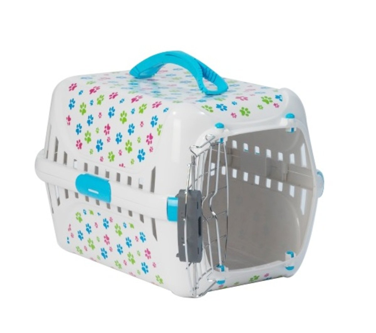 MPT153-119 Trendy Runner Portable Cage - Light Blue