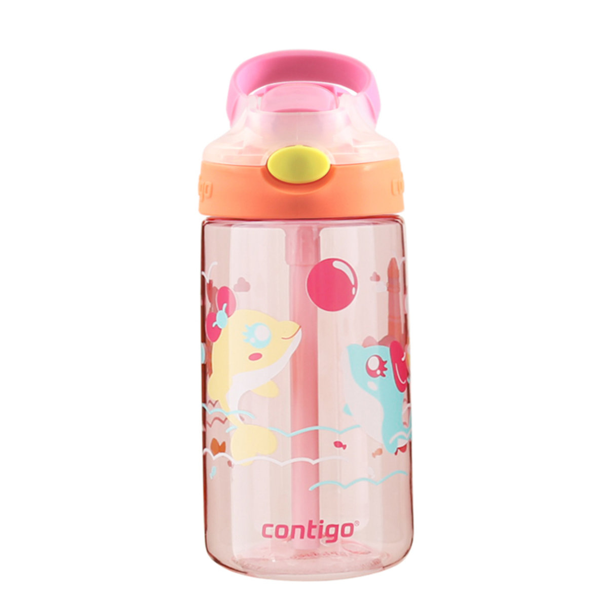 410ml Gizmo Autospout Water Bottle - Little Dolphin
