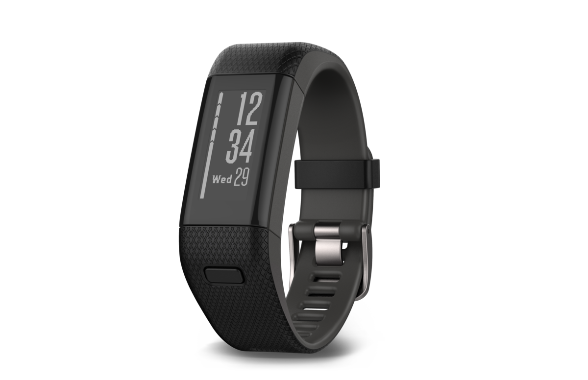 Vivosmart HR+ Black - English version