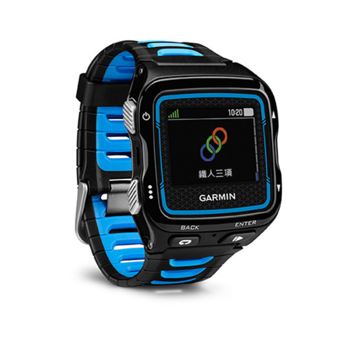 Forerunner 920XT Black/ Blue with HRM-RUN - 繁體中文版