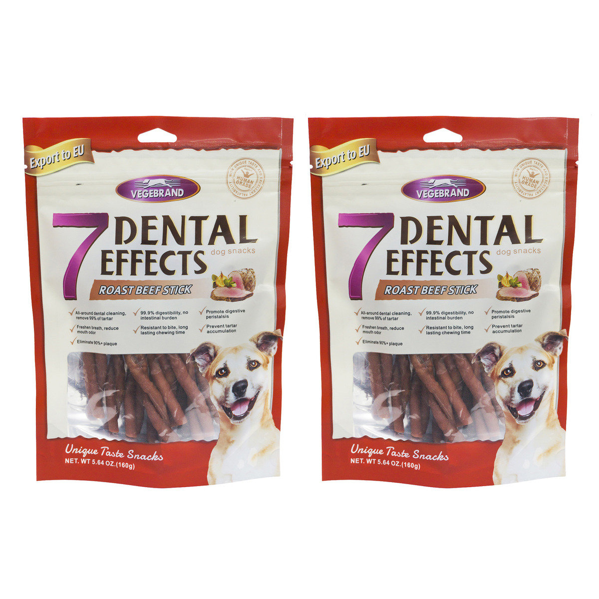 7 Dental Effects roasted beef stick x2 (VBD-0808-2)