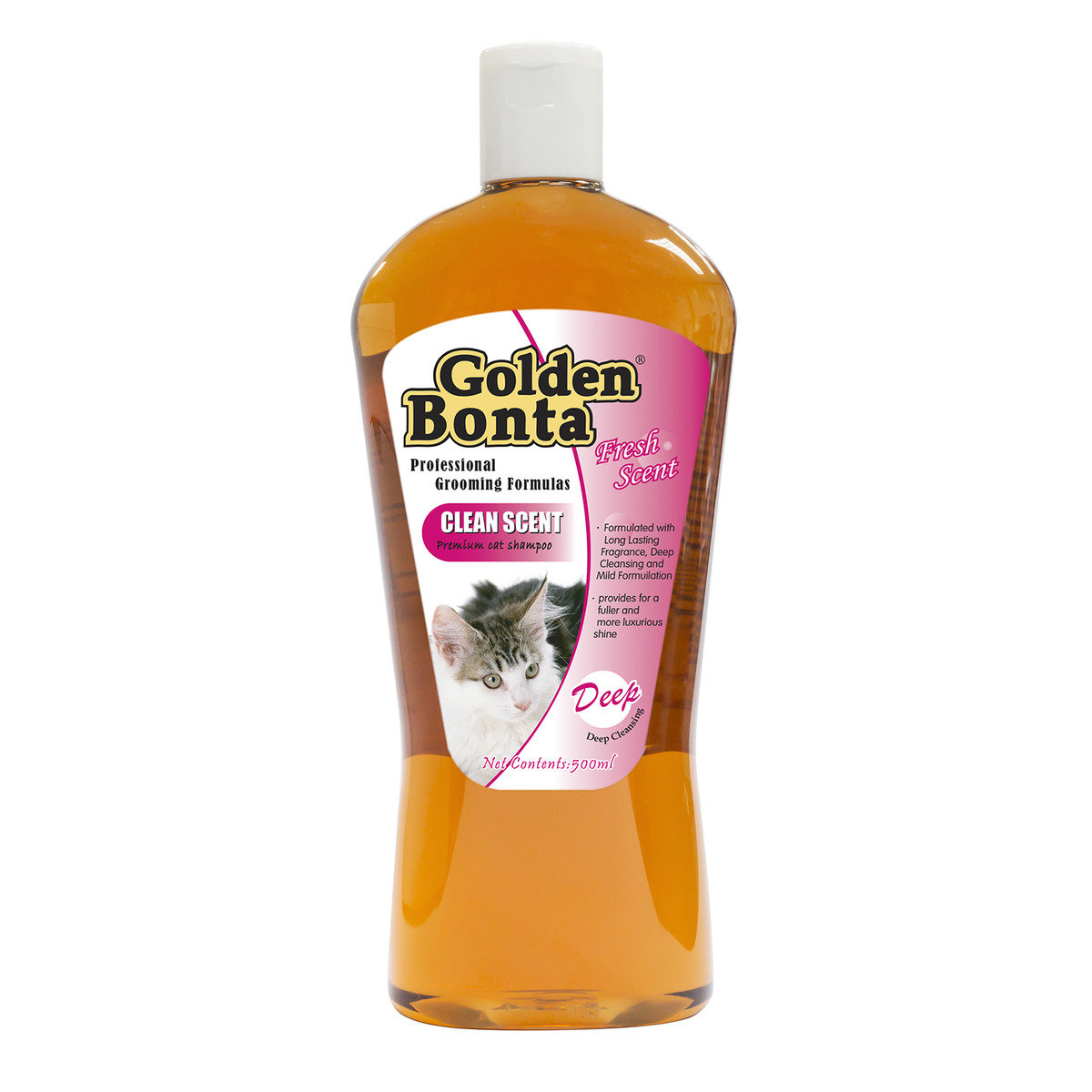 Cat Clean Scent Shampoo 500ml (GOBS-510)