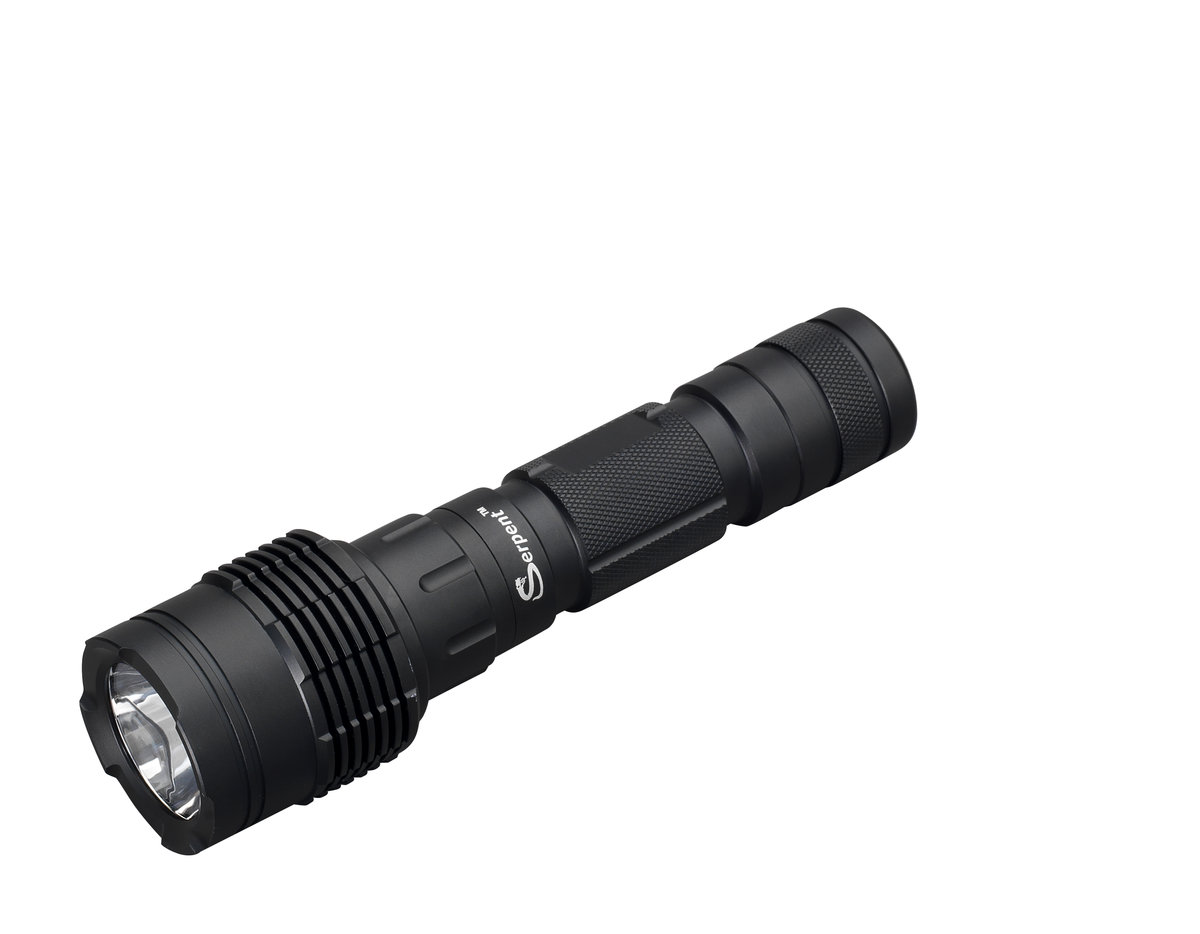 Serpent LSL10 Rechargeable Tactical LED Aluminum Flashlight