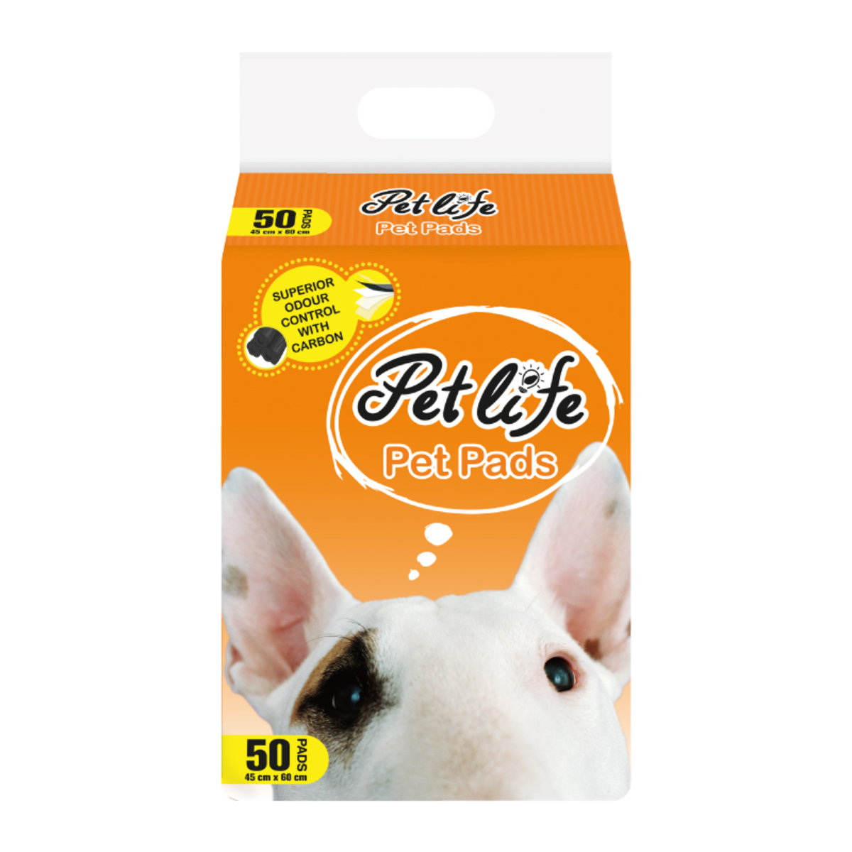 Pet Pads with Carbon_big - 45cm X 60cm (50pads)