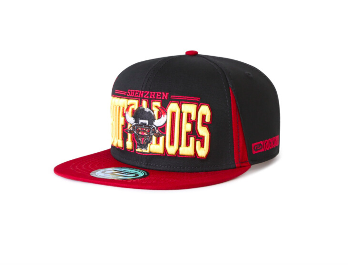 Korean Cap (Hiphop Style) (Black and Red) - LACKPARD