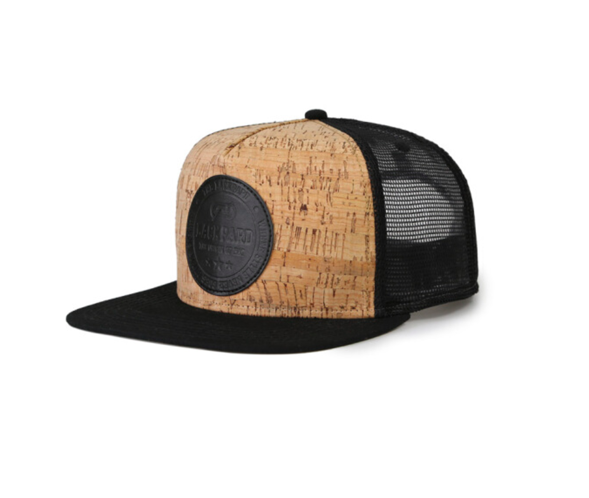 Korean Cap (Hiphop Style) (Yellow and Black) - LACKPARD