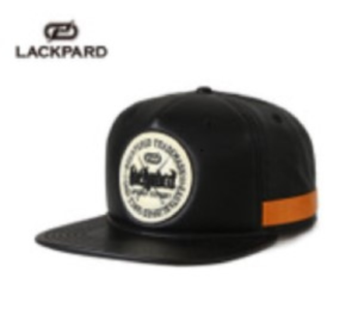 Korean Cap (Hiphop Style) (Black and white) - LACKPARD