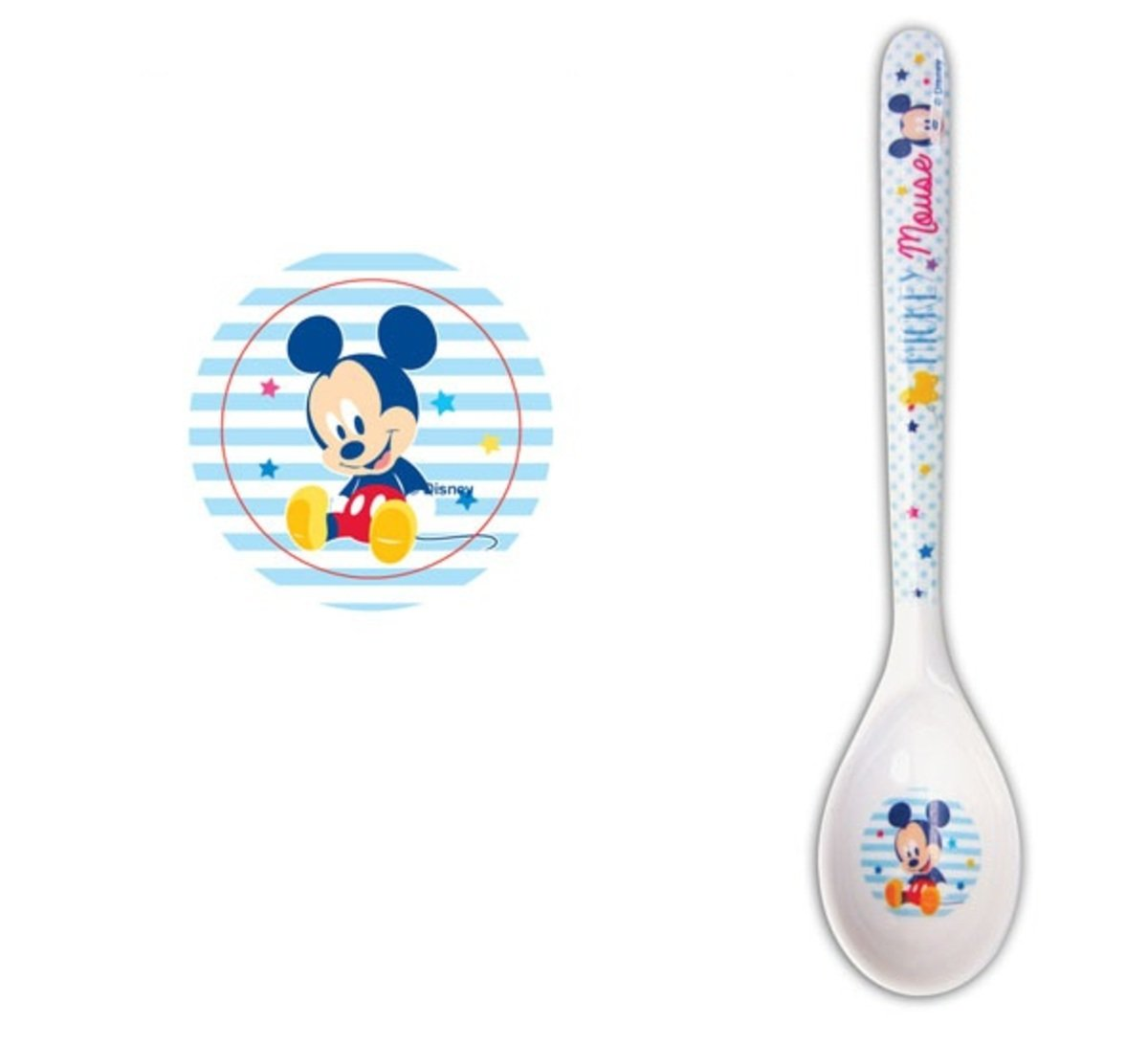 Disney --Melamine 5.5 spoon (Licensed by Disney)