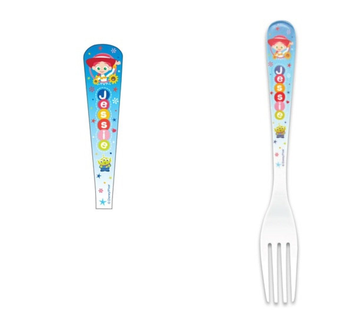 Disney-Melamine 19cm baby fork (Licensed by Disney)