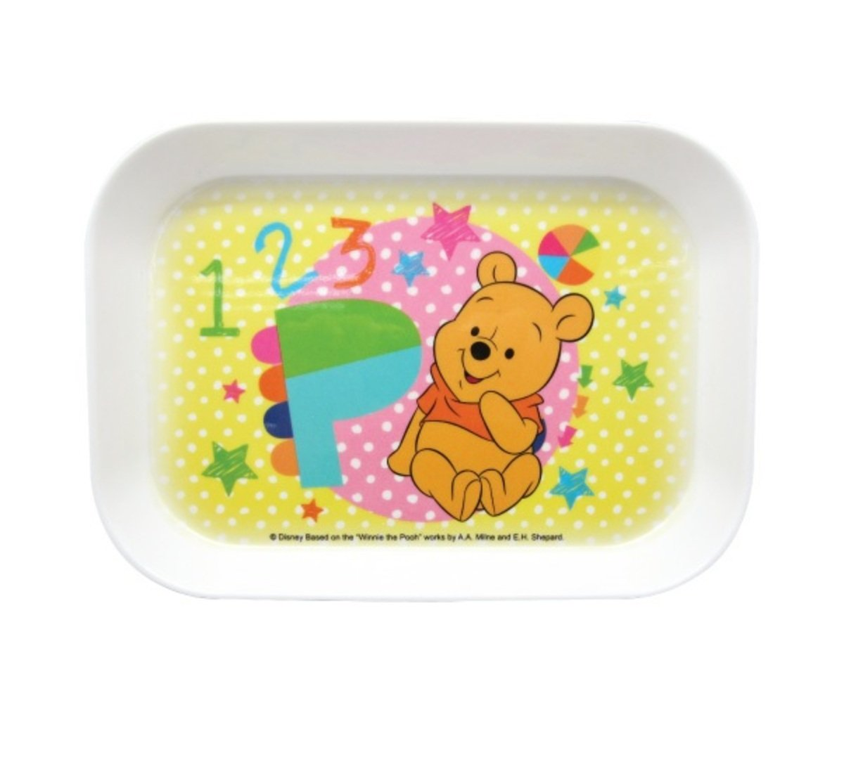 DISNEY-Melamine Tray (S) (Licensed by Disney)(WM3039)