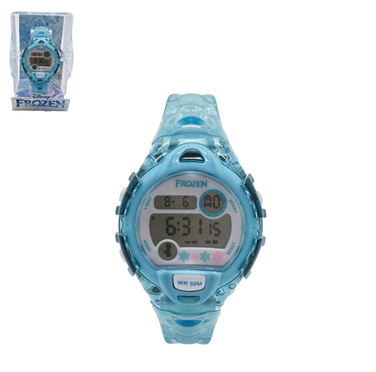Disney--digital watch-blue (Licensed by Disney)