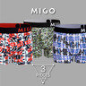 Multi pattern Boxer 3 in 1 pack A