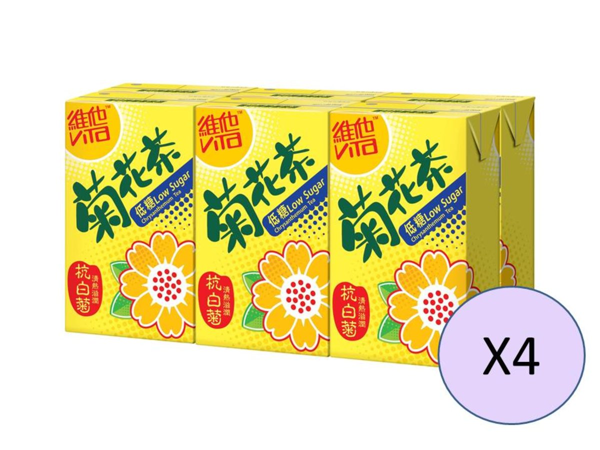 Low Sugar Chrysanthemum Tea 6P x 4
