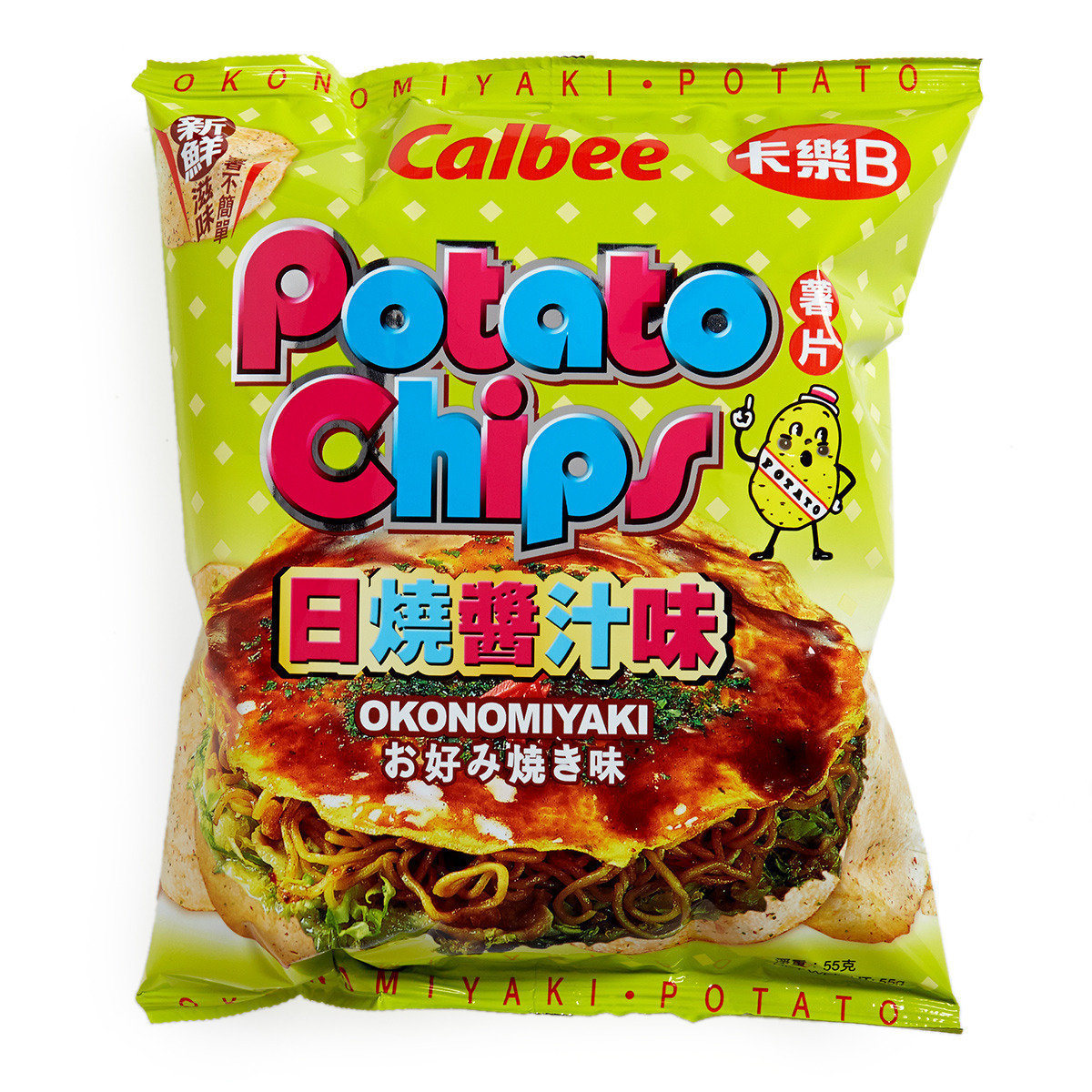 Potato Chips Okonomiyaki