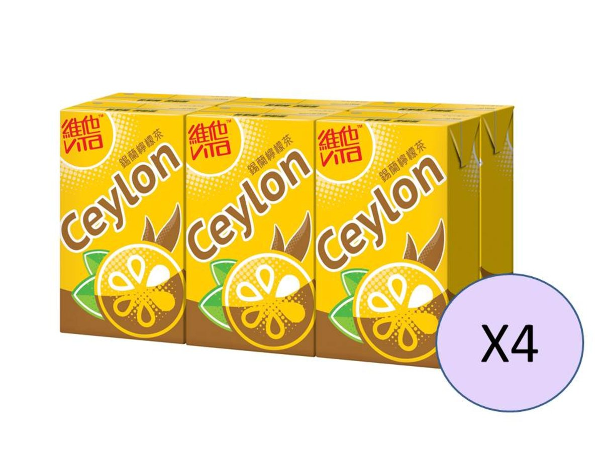 Ceylon Lemon Tea 6P x 4