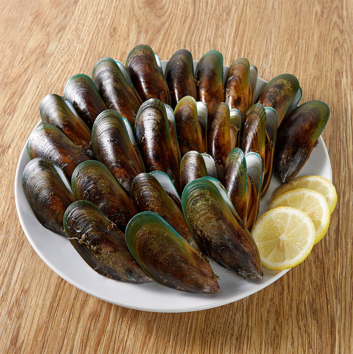 New Zealand Whole Shell Green Mussel