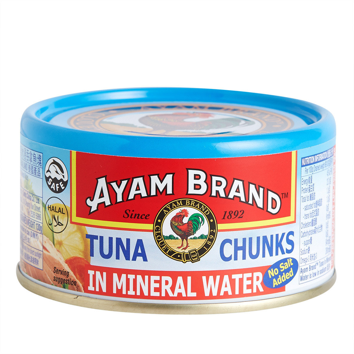 Tuna Chunks in Mineral Water