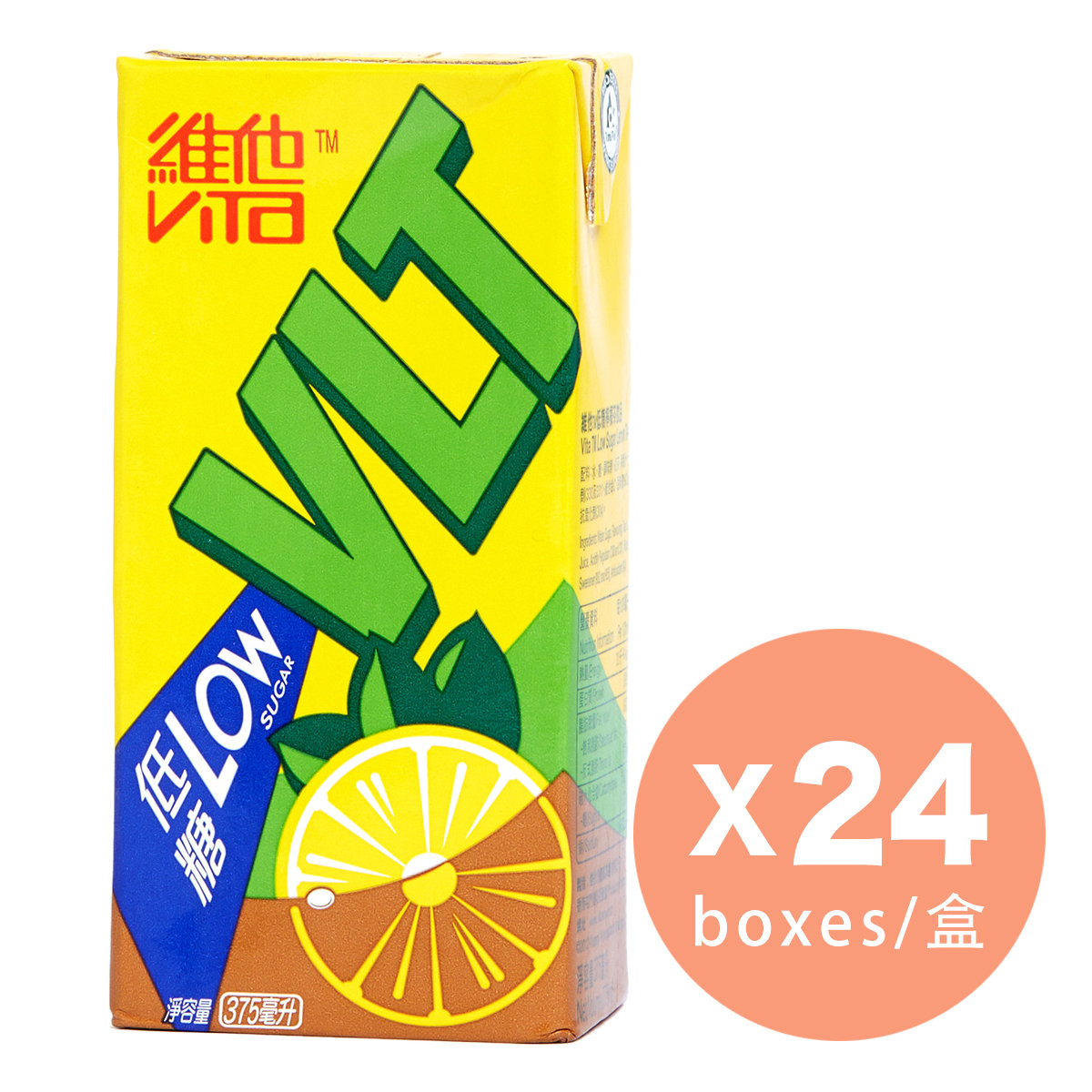 Low Sugar Lemon Tea x 24