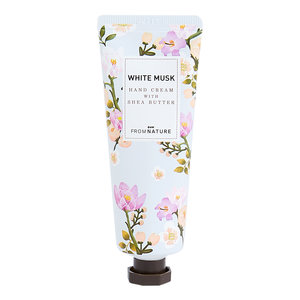 FROMNATURE 乳木果油白麝香護手霜(鮮花精華) 50毫升
