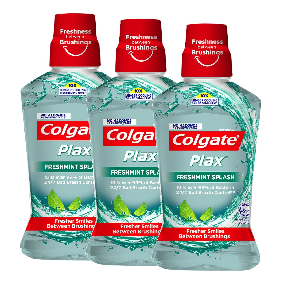 [3 Packs Combo] Plax Freshmint Mouthwash(Randomly Delivery on Packaging)