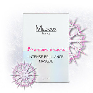 MEDICOX 雪亮+白皙面膜(5片裝) [產品到期日:2022年12月18日] 5pcs