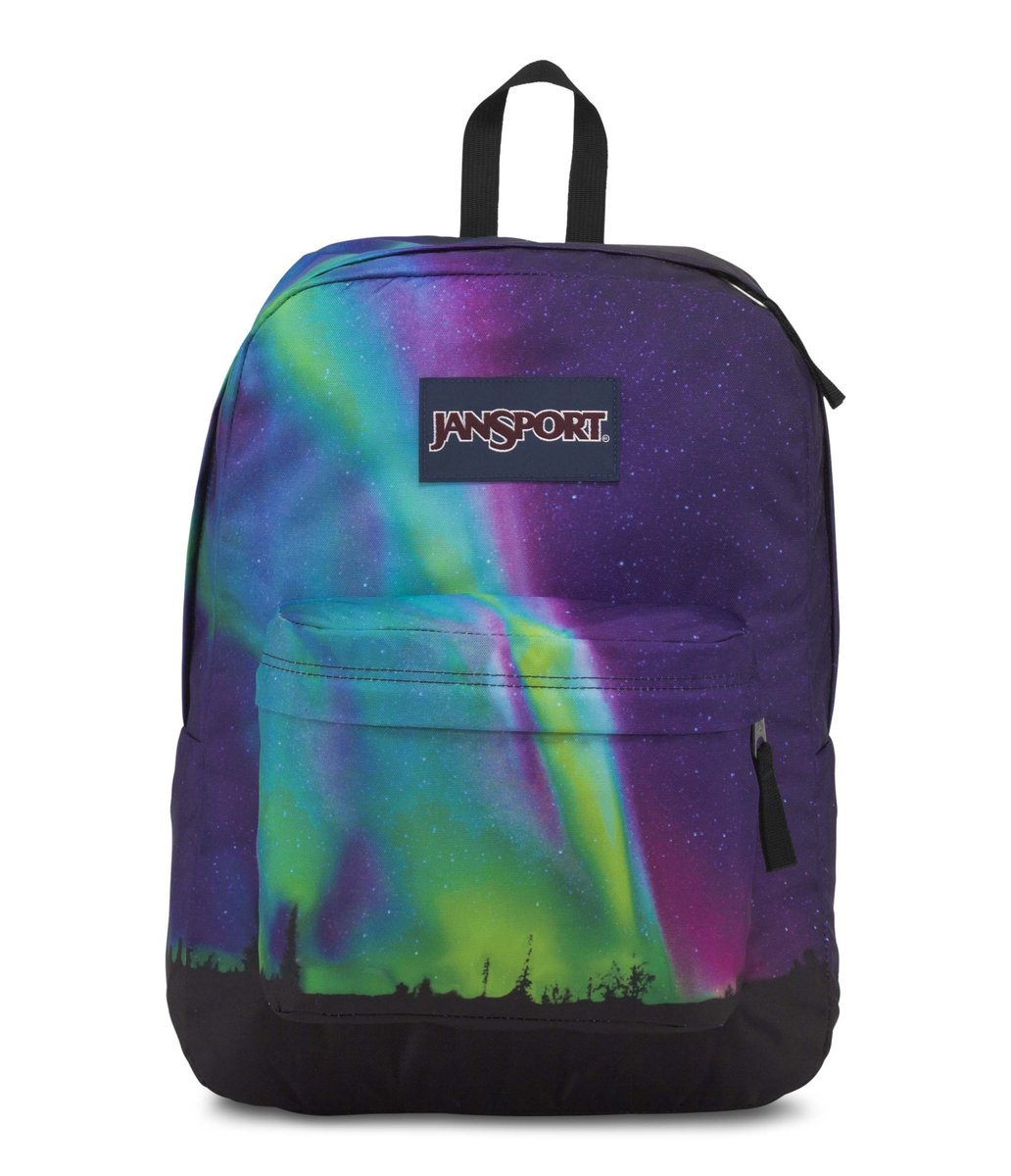 JanSport Backpack - High Stakes - NORTHERN LIGHTS