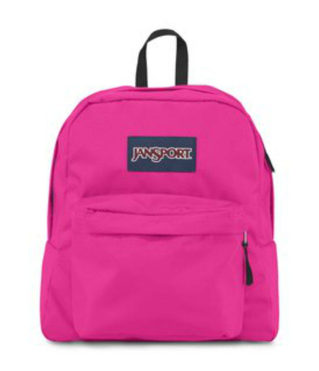 JanSport Backpack - Spring Break - CYBER PINK
