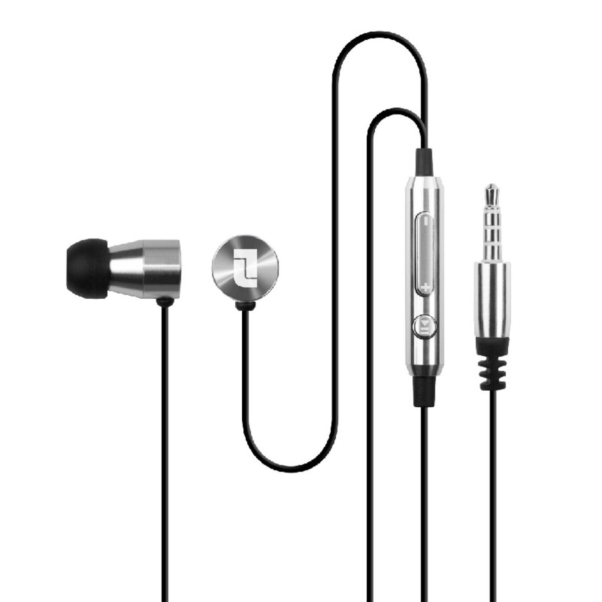 DrumBass Precision Earphones With Metallic Finished and Noise Isolation