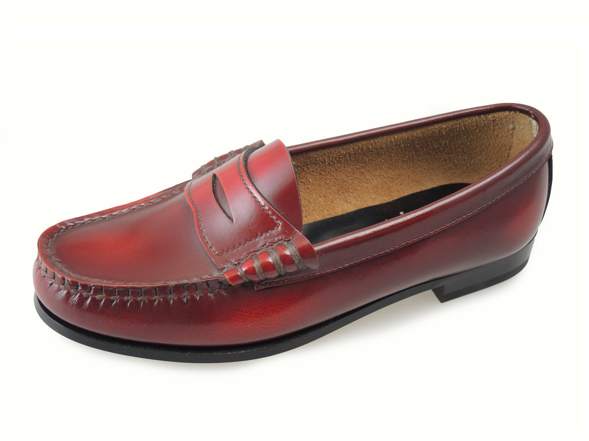 Ladies loafers leather shoes FH14