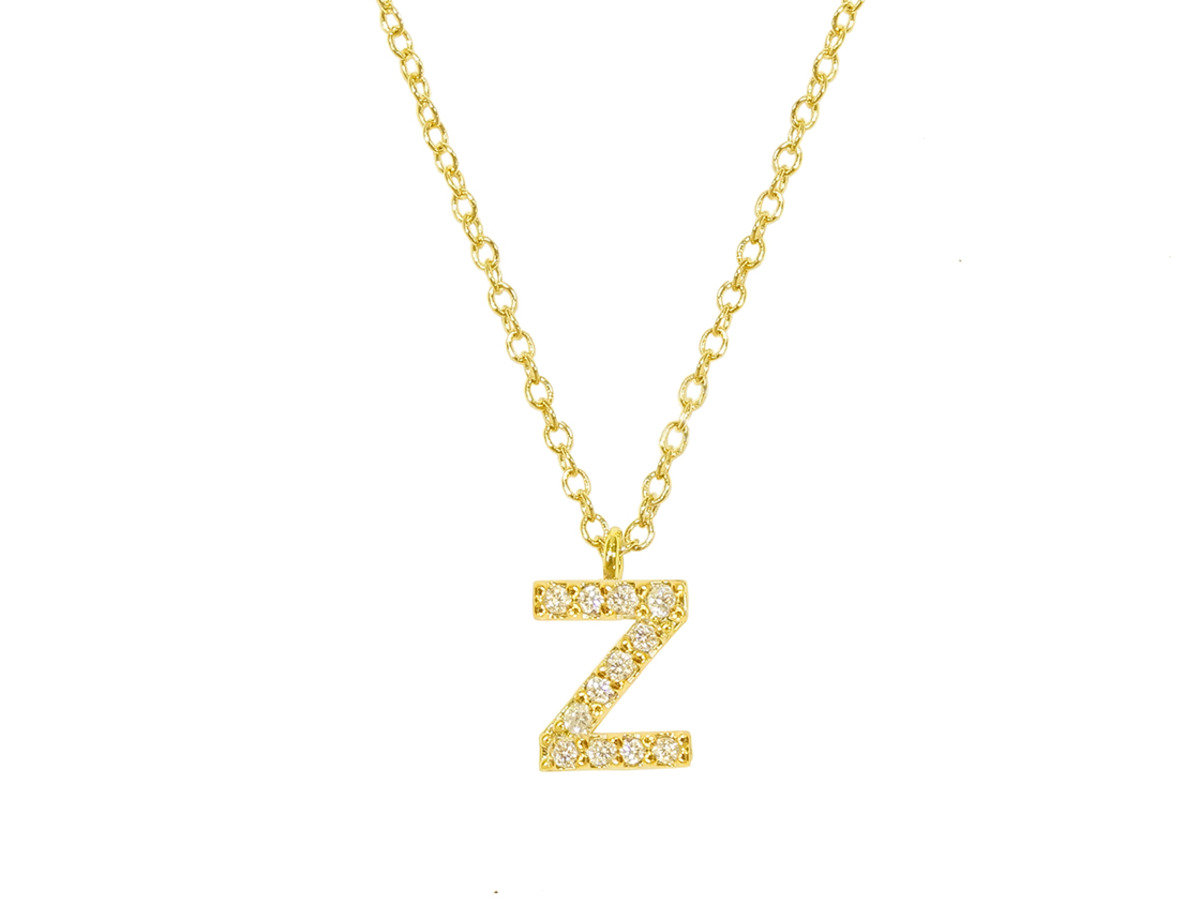 "Initial ""Z"" Necklace"