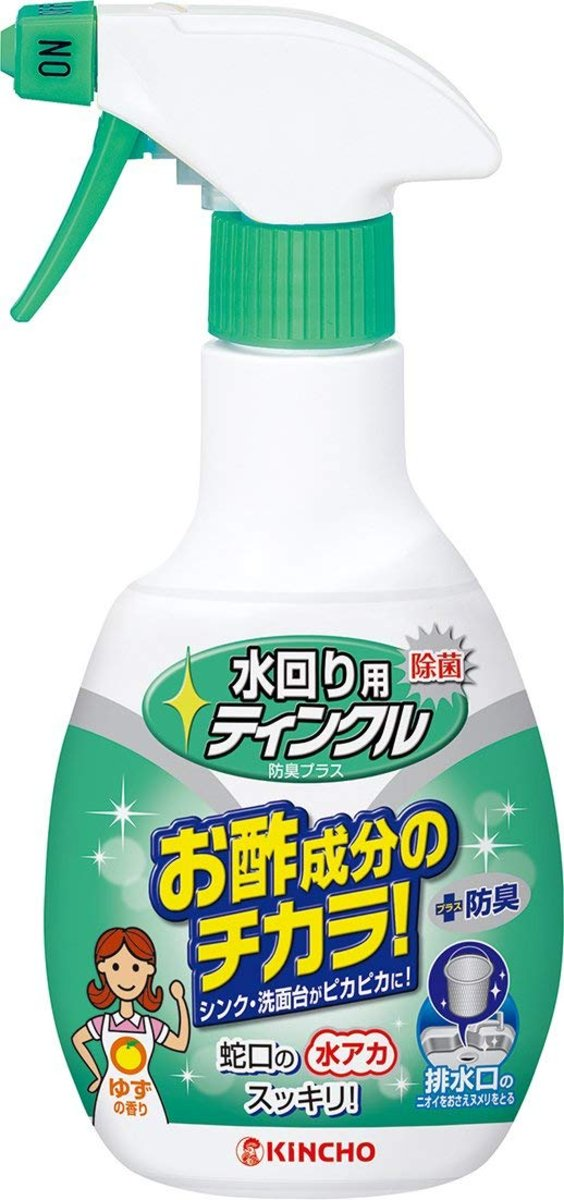 Deodorizing Sink Cleaner Acetic Acid 300ml (Green)