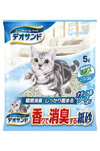 Paper Cat Litter (soap) 5L