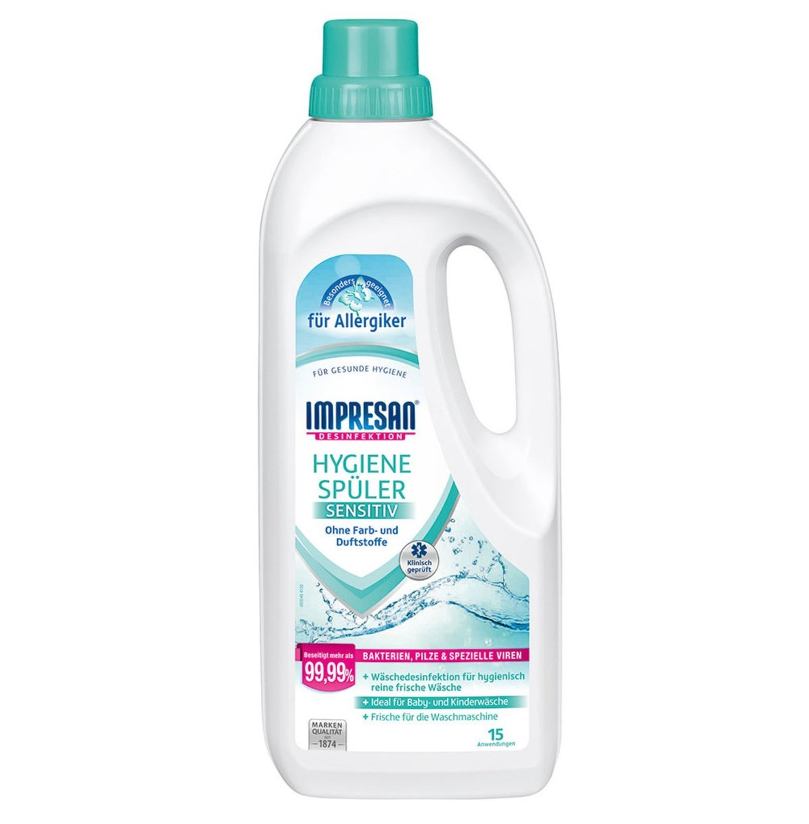Hygiene Laundry Rinse sensitive 1.25L