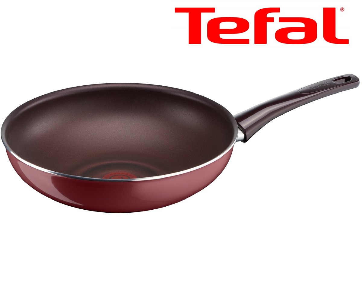 Made-in-France 28cm Non-stick Wokpan  With Thermo-Spot D50219