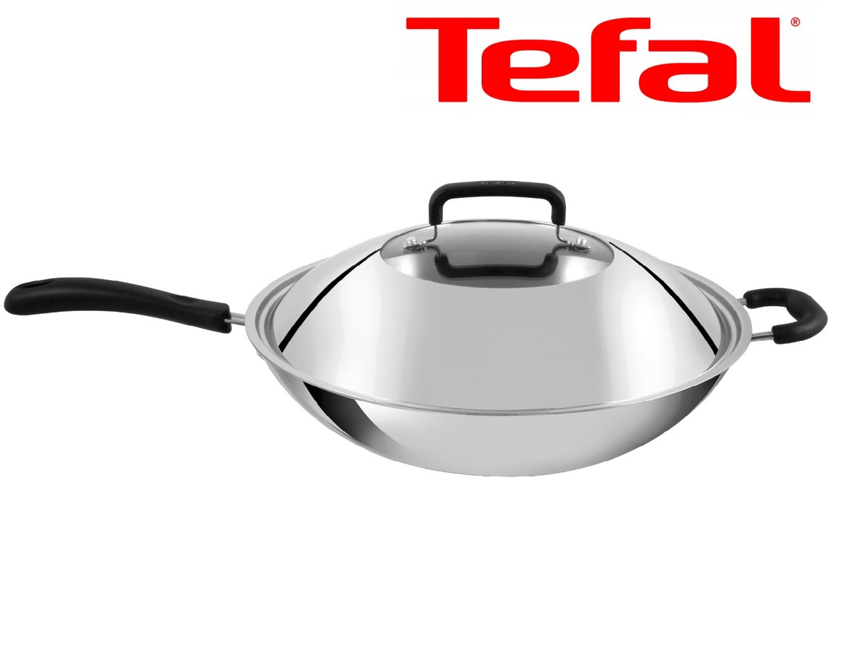 Multilayer Stainless Steel 36cm Stirfry Pan C78092