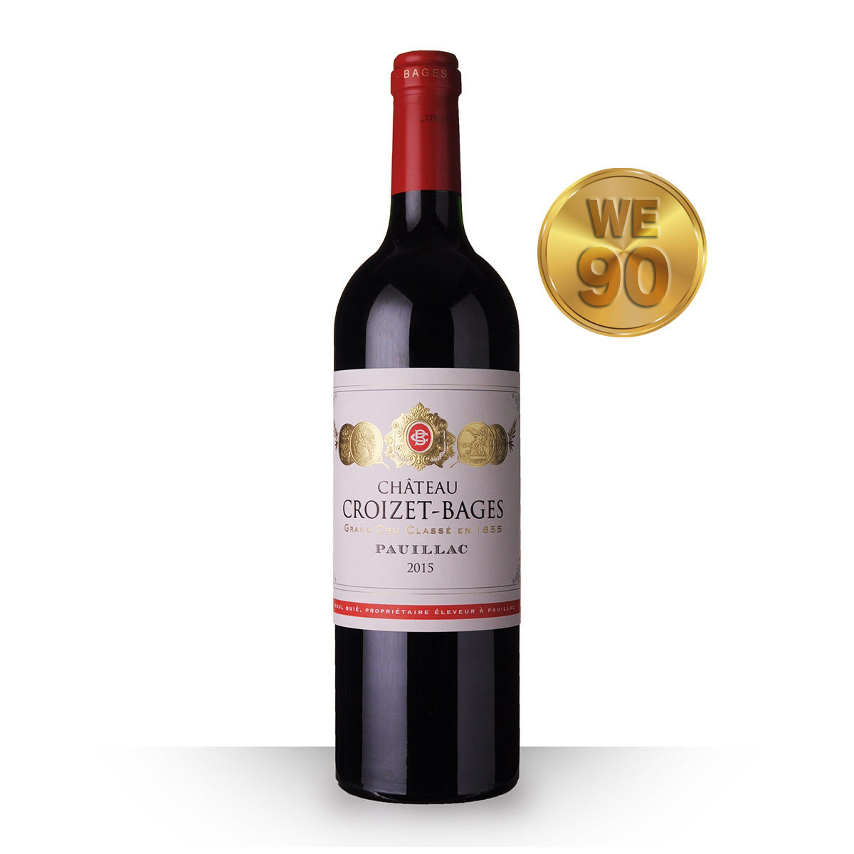 Grand Cru Classe Pauillac 2015  WE 90