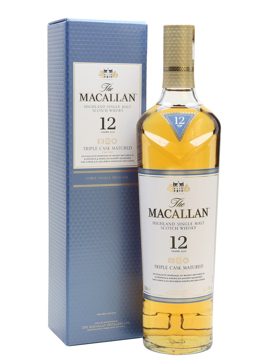 (Triple Cask) 12 Yr Single Malt Whisky
